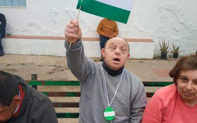 """Los residentes de la RGA """"Cristo Roto"""" celebran el día de Andalucía"""