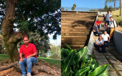 Los residentes visita al Parque Botánico 'José Celestino Mutis', en La Rábida
