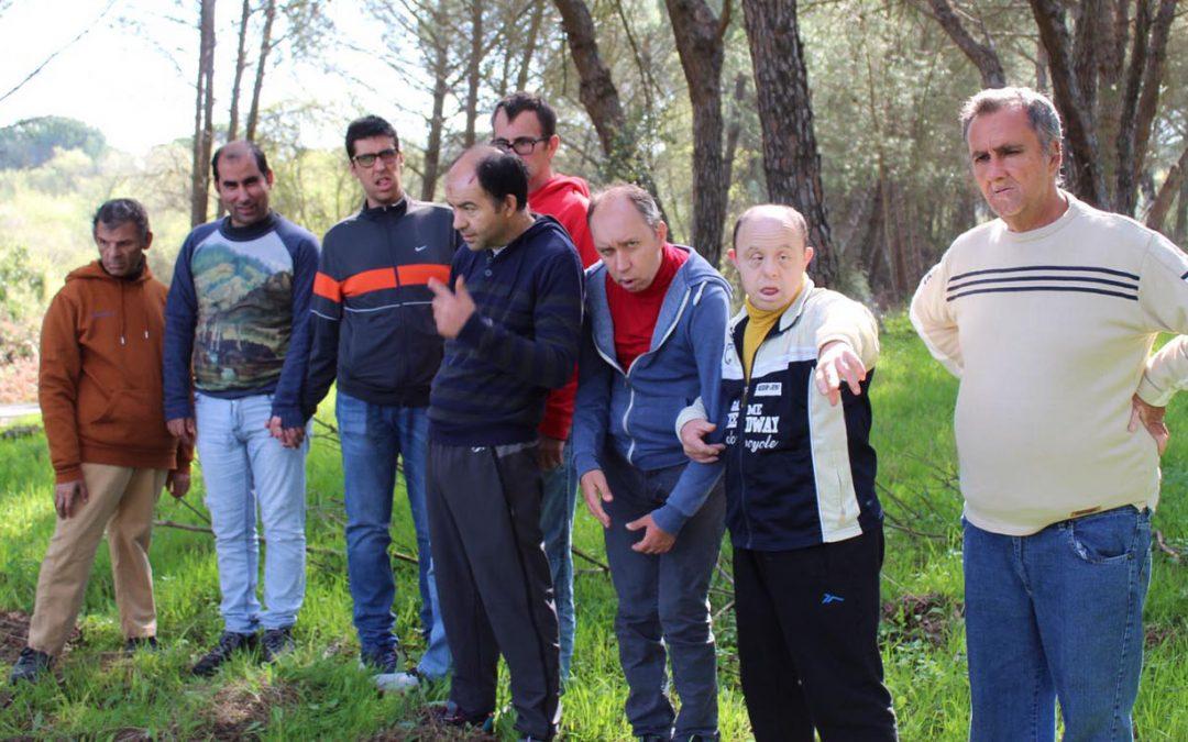 Enriquecedora visita de la Residencia Gravemente Afectados 'El Cristo Roto' a diversos sitios del Espacio Natural de Doñana