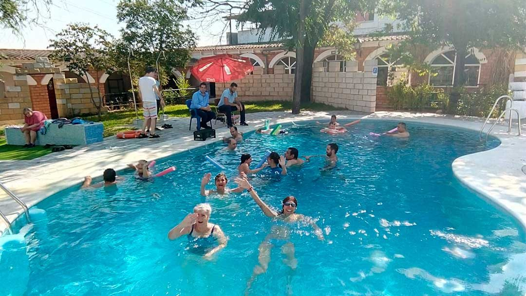 La Casa-Hogar El Cristo Roto cuenta con una nueva piscina con capacidad para veinticuatro personas
